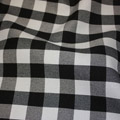 Gingham Checker Black
