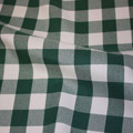 Gingham Checker Green