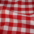 Gingham Checker Red